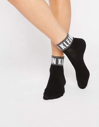 Calvin Klein (カルバン クライン) - Calvin Klein Icon Logo Quarter Socks