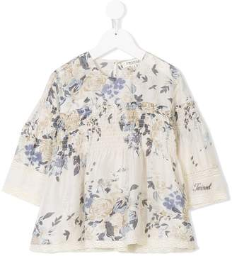 Twin-Set Kids floral print blouse
