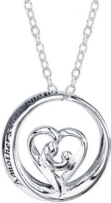 Footnotes Sterling Silver A Mother's Love Pendant Necklace