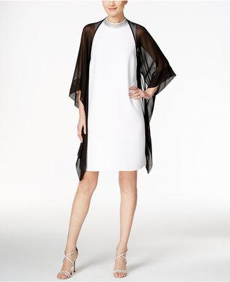 SL Fashions Chiffon Kimono Jacket $39 thestylecure.com