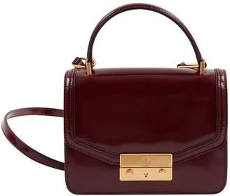 Tory Burch Burgundy Patent leather Handbag