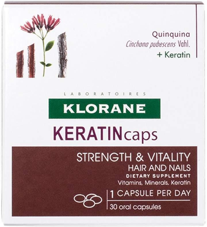 Keratincaps by Klorane (30 Capsule)