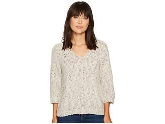Lilla P Raglan Sleeve V-Neck Women's Clothing