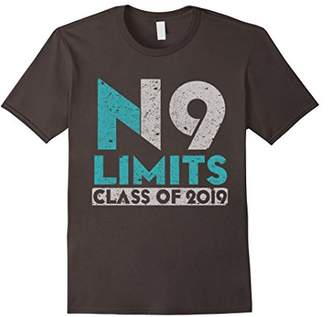 No Limits Class of 2019 - High School Graduation T Shirt