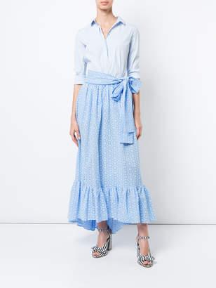 Lisa Marie Fernandez Eyelet maxi skirt