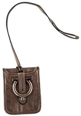 Salvatore Ferragamo Leather Luggage Tag