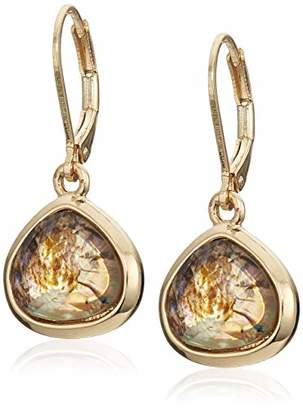 Anne Klein Women's Gold Tone Drop Earrings