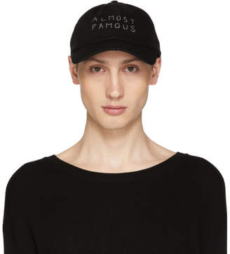 Almost Famous Nasaseasons Black Swarovski Edition Cap