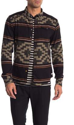 Scotch & Soda Brushed Flannel Lightweight Shirt