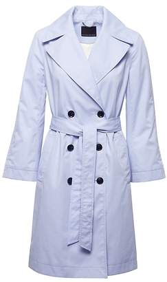 Banana Republic Petite Water-Resistant Modern Trench Coat