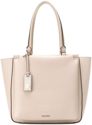 Calvin Klein front compartment tote bag