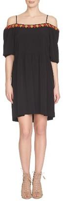 Women's Cece Skye Cold Shoulder Dress $148 thestylecure.com