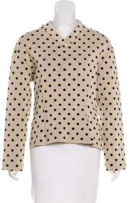 Marc Jacobs Polka Dot Knit Top