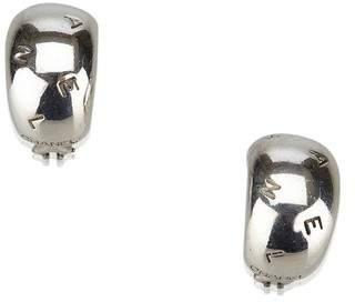 Chanel Vintage Logo Clip On Earrings