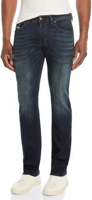 Diesel Blue Denim Safado-R Slim Straight Jeans