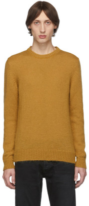 eidos Orange Mohair Lofty Sweater