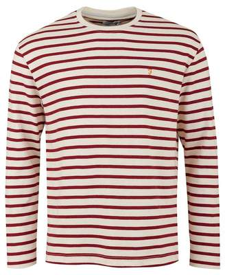 Bain Striped Crew Neck T-shirt