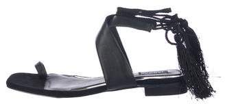 Jaggar Leather Wrap-Around Sandals