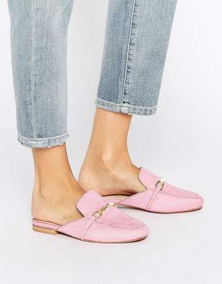ASOS MOVIE Leather Mule Loafers $56 thestylecure.com
