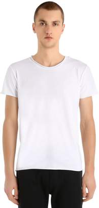 Calvin Klein Jeans Logo Detail Light Cotton Jersey T-Shirt
