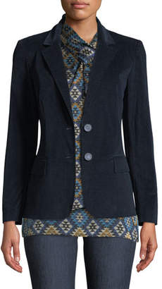 Lafayette 148 New York Camden Curated Corduroy Blazer Jacket