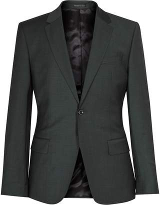 Reiss Winks B - Slim-fit Wool Blazer in Dark Green