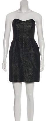 Milly Metallic Sweetheart Dress