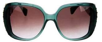 Alexander McQueen Oversize Studded Sunglasses