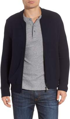 Woolrich Felted Wool Bomber Jacket