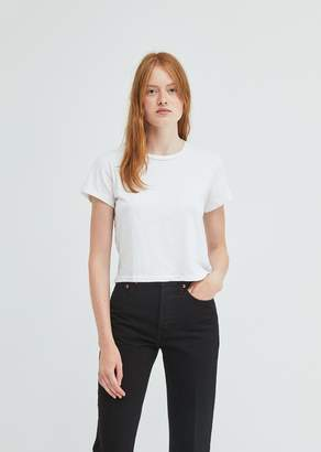RE/DONE The 1950's Boxy Crop Tee