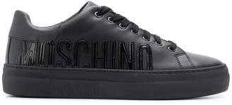 Moschino logo detail sneakers