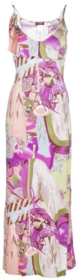 Christian Lacroix Vintage printed maxi dress