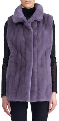 Gorski Reversible Mink Fur Vest