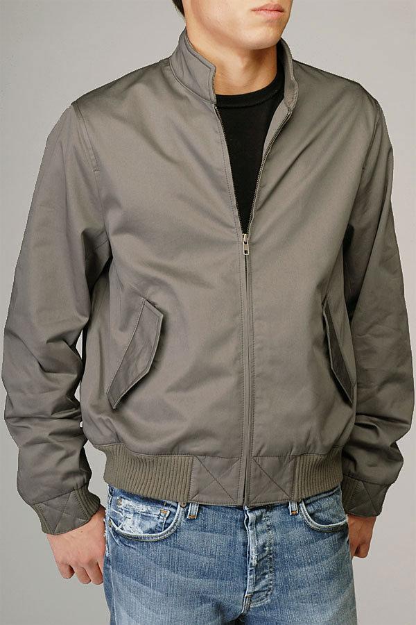 Bomber Jacket In Grey