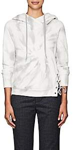 NSF Women's Enzo Tie-Dyed Cotton Hoodie - Grey Tie Dye Size M