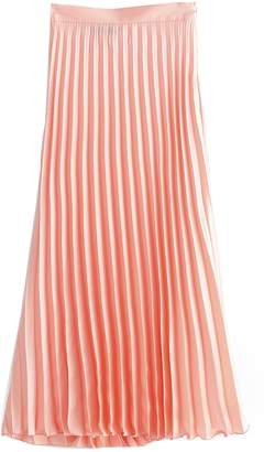 Shein Solid Pleated Skirt