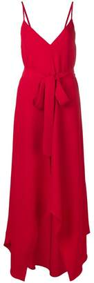 Valentino belted maxi dress