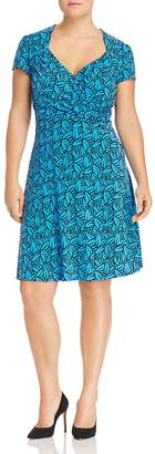 Leota Plus Sweetheart Fit-and-Flare Dress