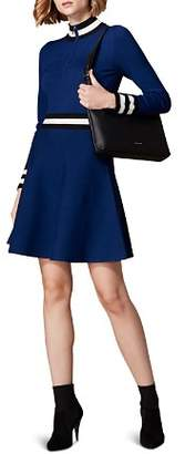 Karen Millen Sporty Fit-and-Flare Dress