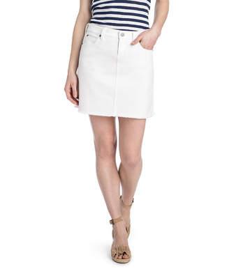 Vineyard Vines White Denim Skirt