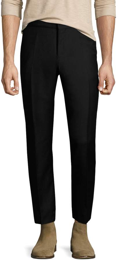 The Kooples Men's Wool Slant Pockets Trousers