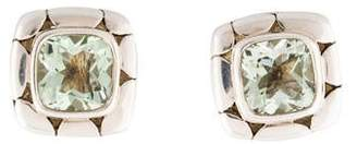 John Hardy Prasiolite Kali Square Stud Earrings