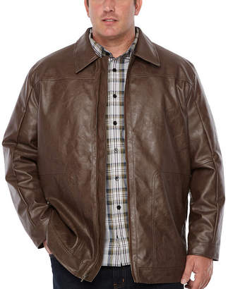 Co THE FOUNDRY SUPPLY The Foundry Big & Tall Supply Midweight Motorcycle Jacket - Big and Tall