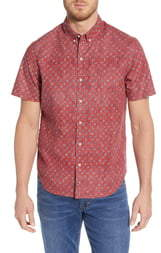 Reyn Spooner Java Flowers Tailored Fit Shirt
