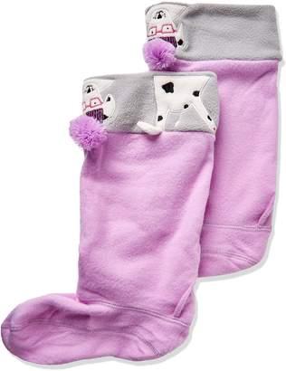Joules Smile Character Girls Wellingtons Socks UK 11-13 (Jnr)