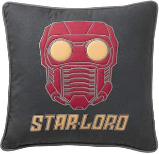 Pottery Barn Teen Guardians of the Galaxy Starlord Pillow Cover, 18x18 Dark Gray
