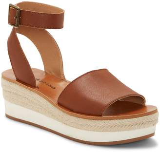 c8852be4f91d5 Lucky Brand Joodith Platform Wedge Sandal