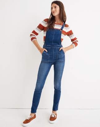 Madewell Skinny Overalls in Santiago Wash
