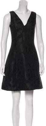 Aspesi Jacquard Mini Dress
