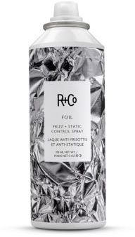 R+Co FOIL Frizz + Static Control Spray/5 oz. $27 thestylecure.com